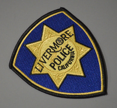 Livermore California Police Patch ++ Mint Alameda County CA
