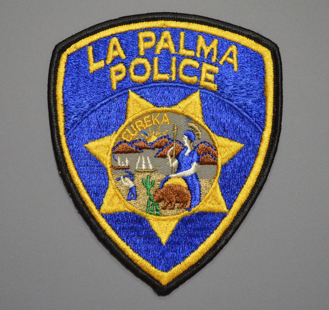 La Palma California Old Style Patch ++ Mint Orange County CA HTF