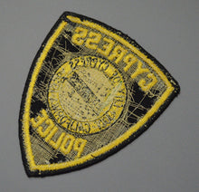 Cypress California Police Patch ++ o/s 2nd Issue Orange County CA