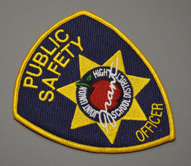 Grant Joint Union High School Dist. Public Safety Patch ++ Sacramento County CA
