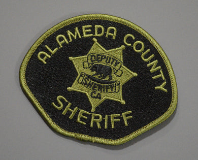 Alameda County California Sheriff SRU (SWAT) Patch