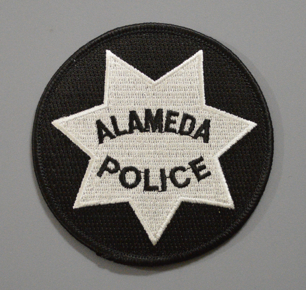 Alameda California Police Badge Patch