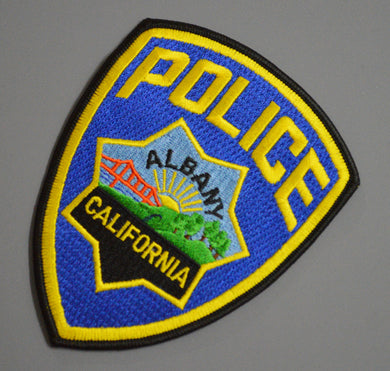 Albany California Police Patch ++ Alameda County CA