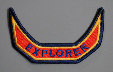 Anaheim California Fire & Rescue EXPLORER tab Patch ++ Orange County CA