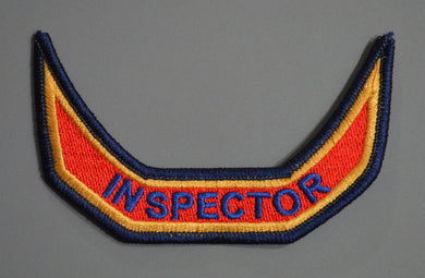 Anaheim California Fire & Rescue INSPECTOR tab Patch ++ Orange County CA