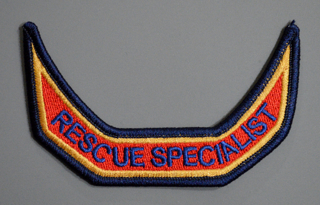 Anaheim California Fire RESCUE SPECIALIST tab Patch ++ Orange County CA