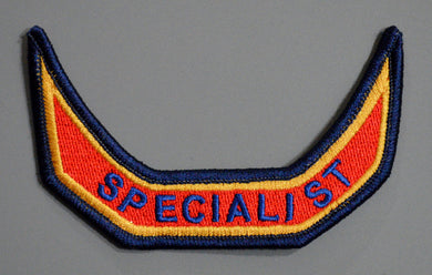 Anaheim California Fire & Rescue SPECIALIST tab Patch ++ Orange County CA