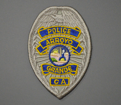 Arroyo Grande California Police o/s Badge Patch