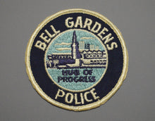 Bell Gardens California Police Patch ++ o/s Los Angeles County CA
