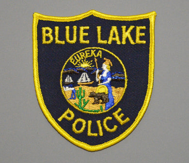 Blue Lake California Police Patch ++ Defunct Issue CA