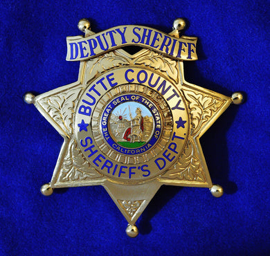 Butte County California Deputy Sheriff Badge