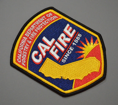 CAL FIRE California Dept. of Forestry & Fire Protection Patch ++ Mint CA