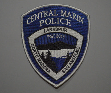 Central Marin California Police Patch