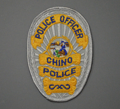 Chino California Police Officer Badge Patch
