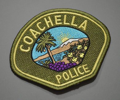 Coachella California Police Patch