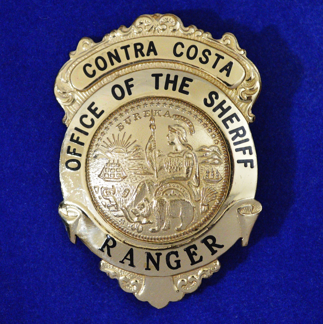 Contra Costa County California Ranger badge