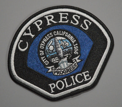 Cypress California Police Patch