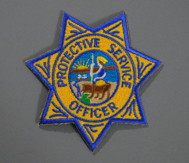 DOE/LLNL Protective Service Officer color version Badge Patch