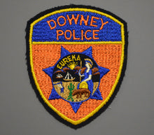 Downey California Police Patch ++ o/s Felt version LACO CA