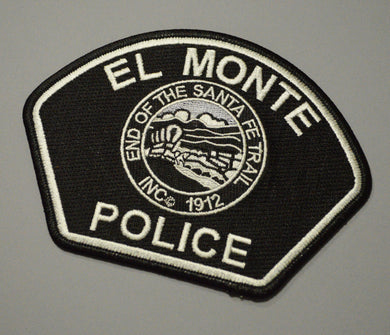 El Monte California Police Patch