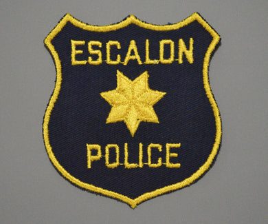 Escalon California Police Patch ++ Mint San Joaquin County CA