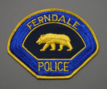 Ferndale California Police Patch ++ Mint CA Walking Bear version