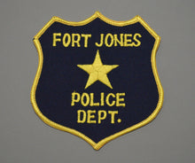 Fort Jones California Police Patch ++ Defunct Mint CA Blue Shield version