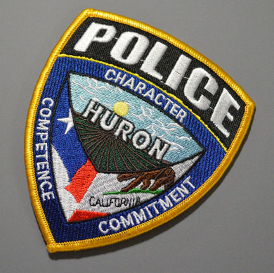 Huron California Police Patch