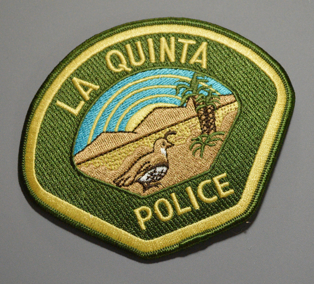 La Quinta California Police Patch