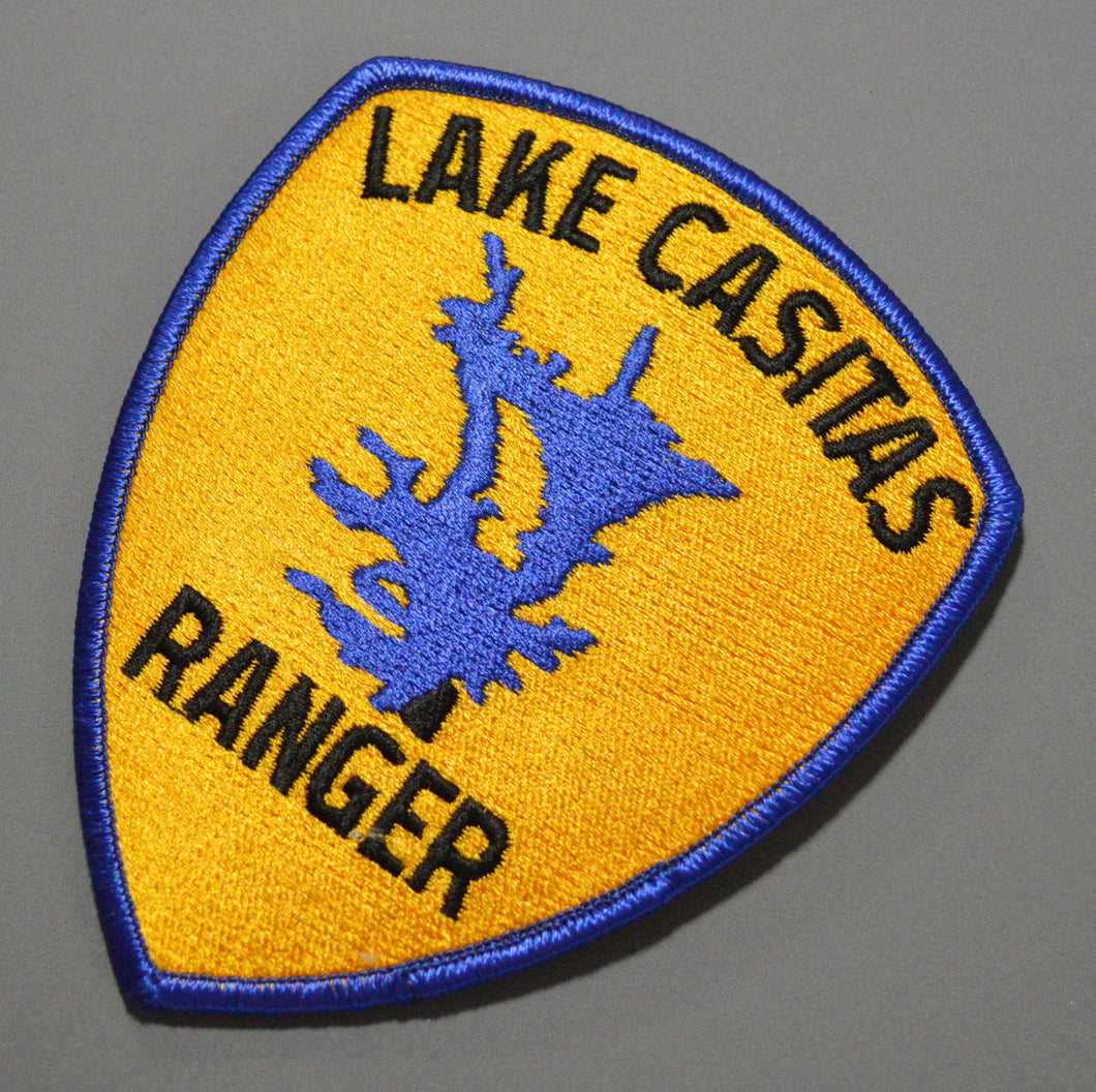 Lake Casitas California Ranger Patch
