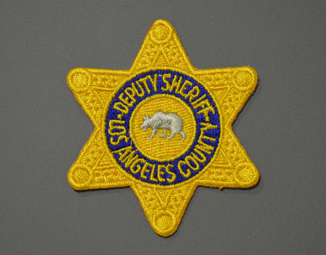 Los Angeles County Deputy Sheriff Badge Patch