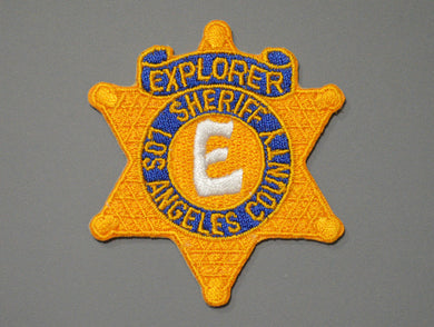 Los Angeles County Sheriff's Explorer Badge Patch