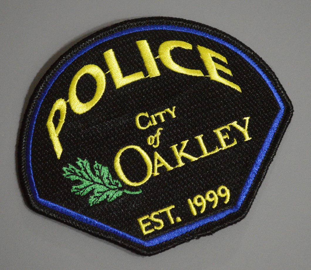 Oakley California Police Patch ++ Contra Costa County CA