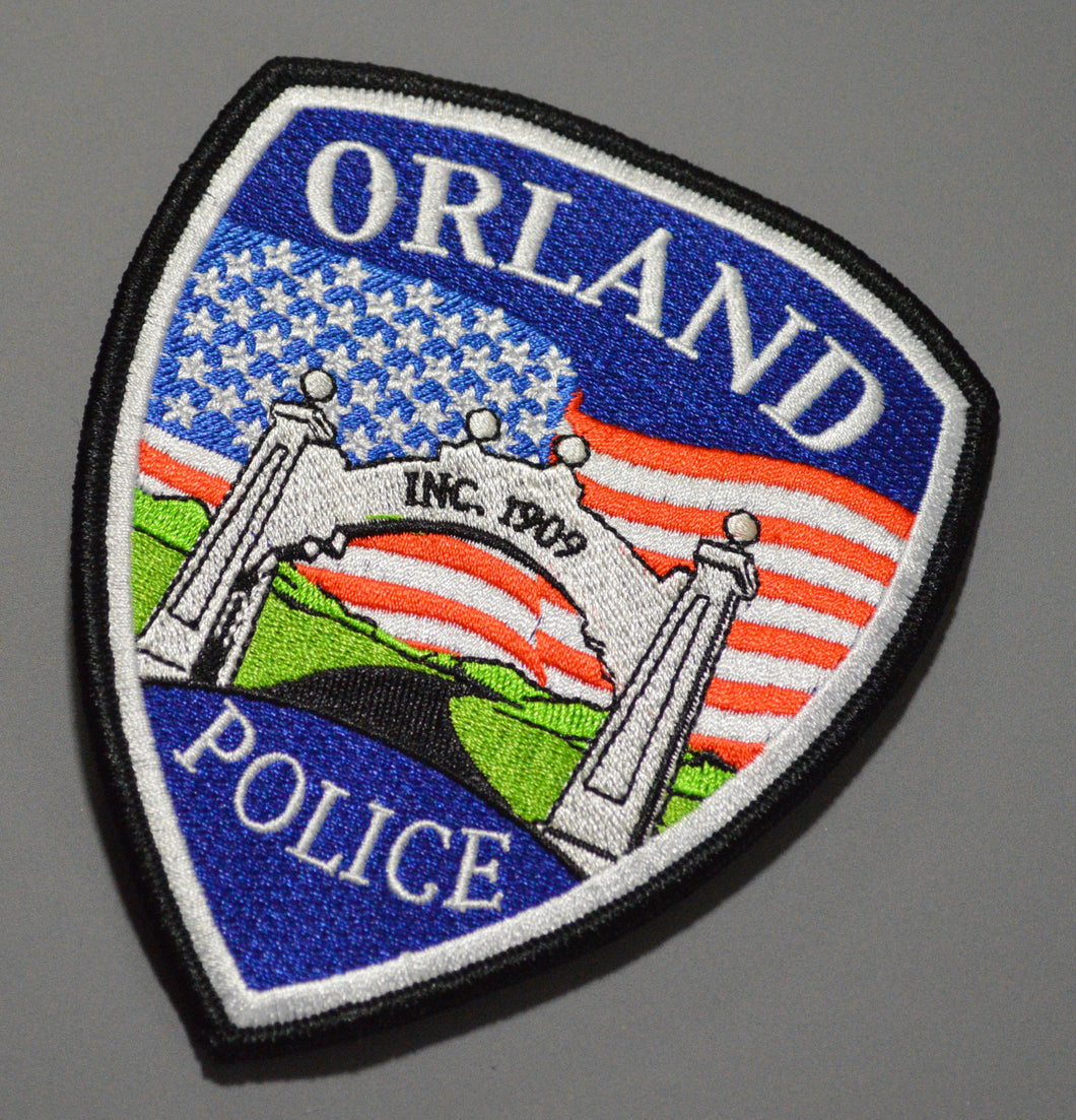 Orland California Police Patch (2016)