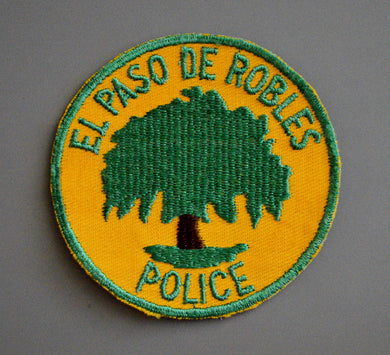 Paso Robles California Police Patch ++ 2nd Issue CA