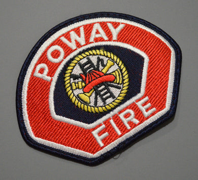 Poway California Fire Department Patch ++ San Diego County CA