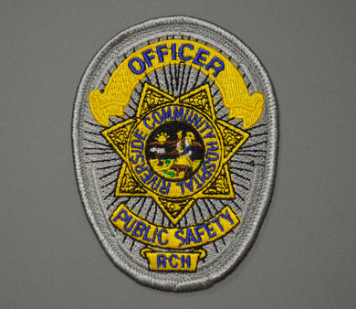 Riverside Community Hospital Public Safety Officer Badge Patch