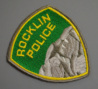 Rocklin California 1st Issue old style Police Patch