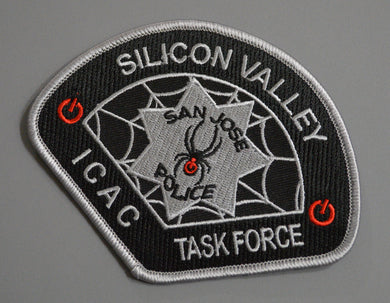 San Jose Police ICAC Task Force Patch (New 2016 issue)