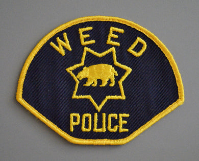 Weed California Police Patch ++ 1st Issue CA