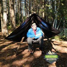 Amazing Wilderness Bushcraft Hammock / Camp Chair