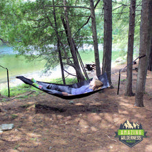 Amazing Wilderness Camp Bed As Hammock Lakeside
