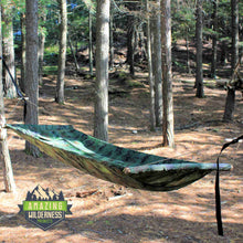Amazing Wilderness Camp Bed As Hammock Camouflage