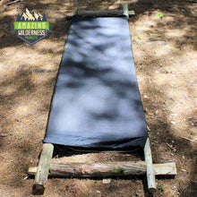 Amazing Wilderness Camp Bed As Bushcraft Cot Black