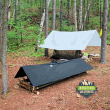 Amazing Wilderness Camp Beds In Forest
