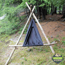 Amazing Wilderness Camp Hammock Bushcraft Chair Black
