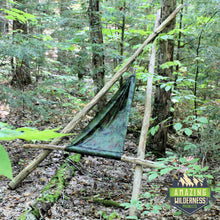 Amazing Wilderness Camp Hammock Bushcraft Chair Camouflage