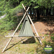 Amazing Wilderness Camp Hammock Bushcraft Chair Green
