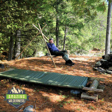 Amazing Wilderness Camp Cot And Chair Lakeside