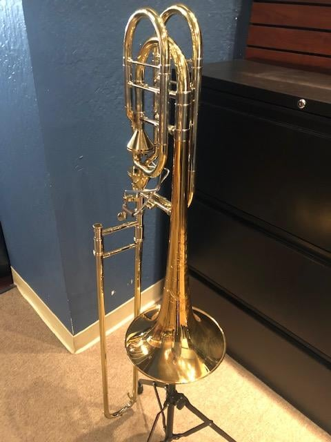 Used Shires TBQ36GA Q Series Bass Trombone